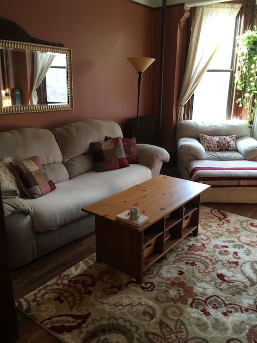 Super comfy couch and chair set