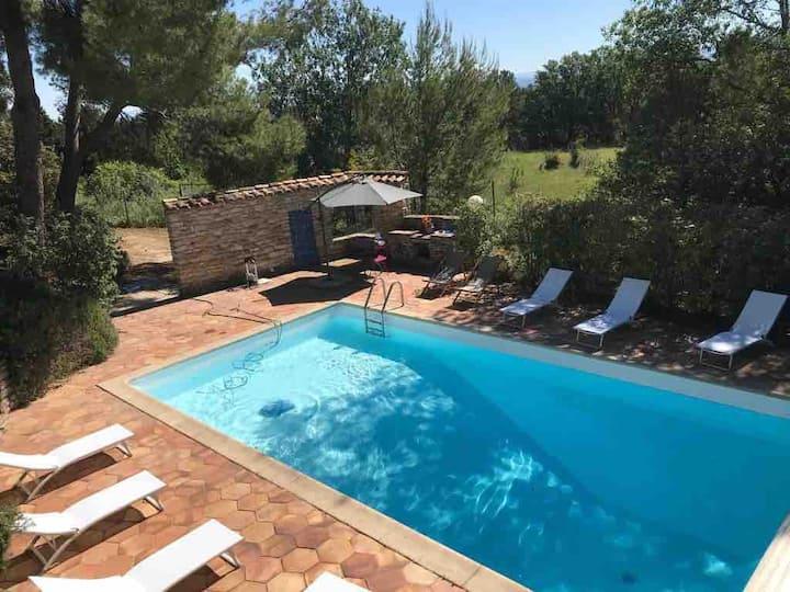 Villa d'Architecte avec piscine   près d'Avignon