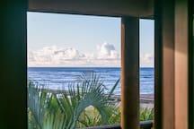 Ocean view from master bedroom deck