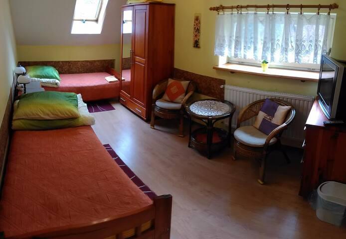 Komfortowy pokój - Nałęczów - Casa de férias