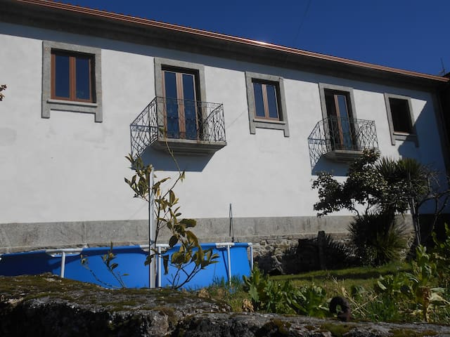 Casa Do Calado em Campos Vieira Do Minho. Braga - ブラガ - 一軒家