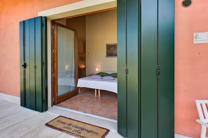 Camera Matrimoniale/Doppia con Vista Giardino