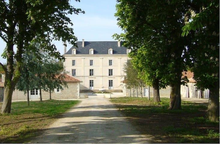 Gîte hôtelier dans château / Domaine privatisé - Granzay-Gript - House