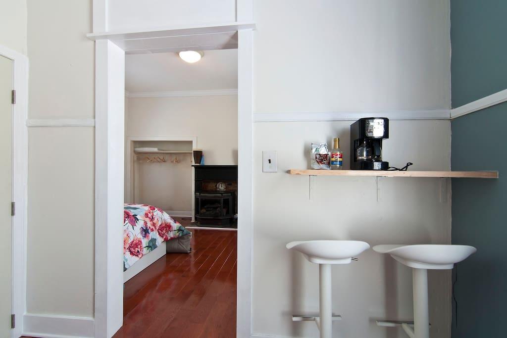 little kitchen nook