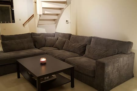 Spacious double bed room in a newly renovated home - Delft