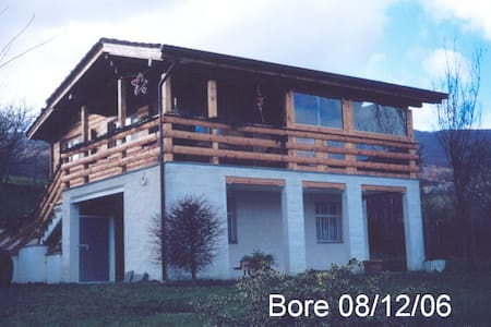 Chalet Villa Bore SPA in mezzo ai colli Piacentini - Bore - Sommerhus/hytte