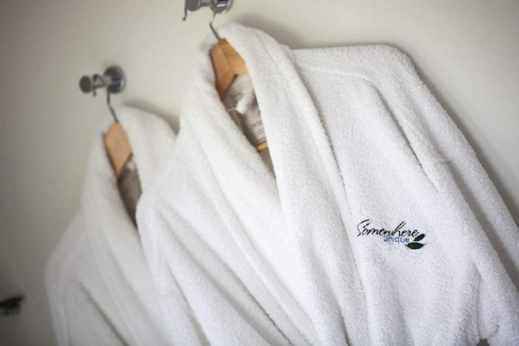 Soft and cuddly bath robes