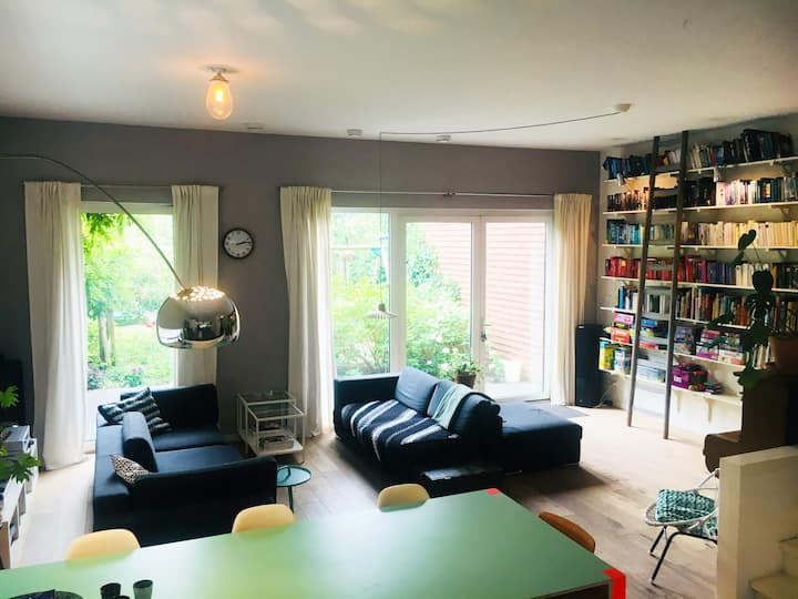 Lovely 3 bedroom house with big garden @Amsterdam!