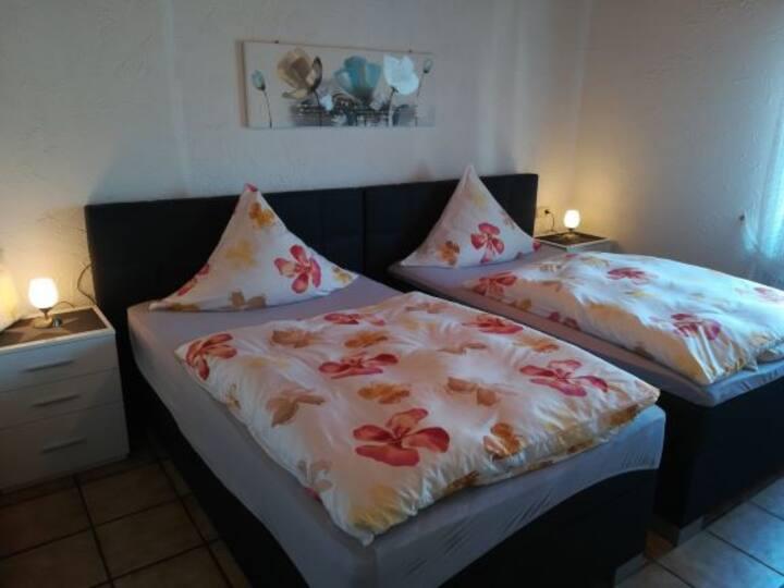 Ferienwohnungen Haus Luft, (Attendorn), Ferienwohnung Typ B, 95qm, 2 Schlafzimmer, max. 5 Personen