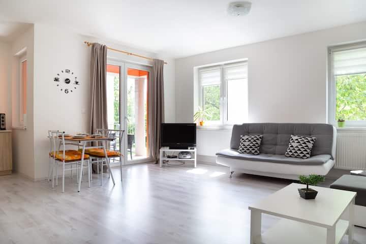 Spacious  new apartment in centre of Šamorín