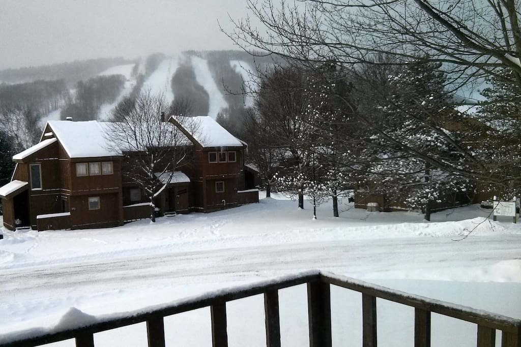 Winter Views of the mountain