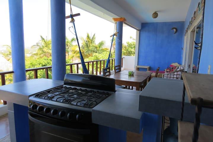 Penthouse in Paradise - Sunset Point Resort - Brisas de Zicatela - Apartment