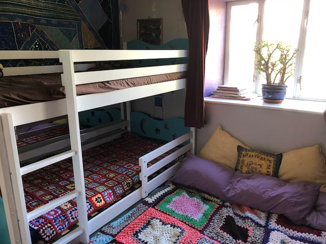 bunkbeds with optional added double mattress