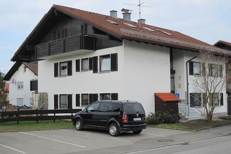 Wunderschöne 2 Zi-Wohnung in Nesselwang - Nesselwang - อพาร์ทเมนท์