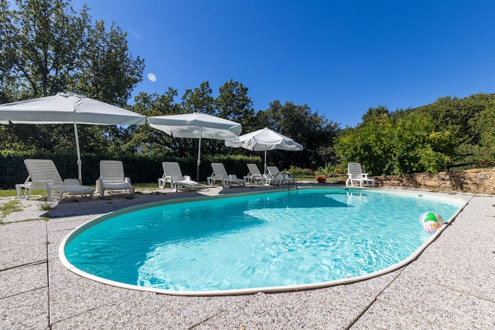 Collonzo - Family friendly country-house with pool - Castelnuovo di Val di Cecina - House