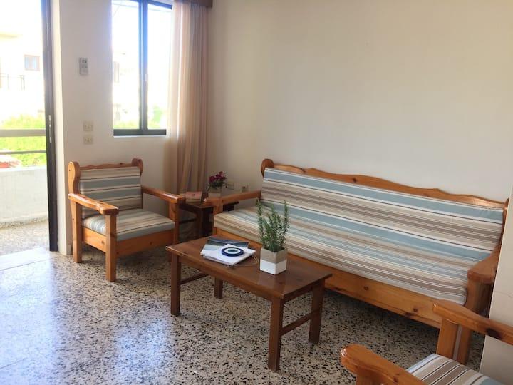 Cozy apartment in Afandou village