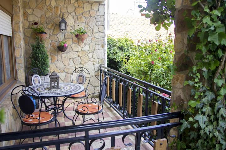 House with 6 bedrooms in Abejar, with enclosed garden and WiFi