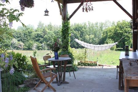 Maison atypique art & nature près de Rennes/A84 - Ercé-prés-Liffré - Casa