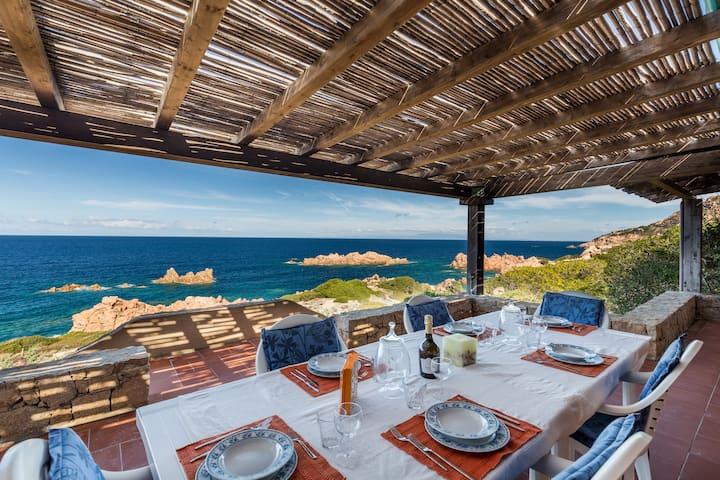 Villa Cobalto  amazing sea view 100 mt from sea