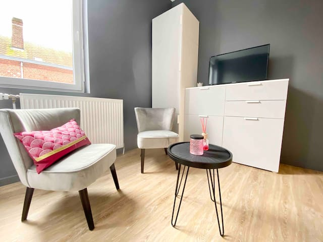 Confortable studio ♡ cosy et moderne (4)