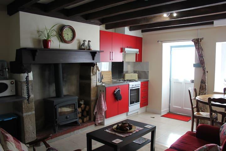 Entrance/Lounge/kitchen