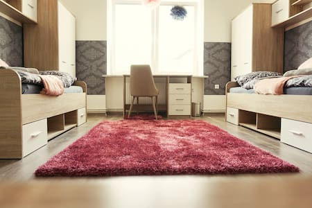 BE MY GUEST totaly new room near City center Pink