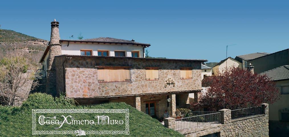 """Casa Ximeno - Muro  """"Tranquilidad en el Pirineo"""""""