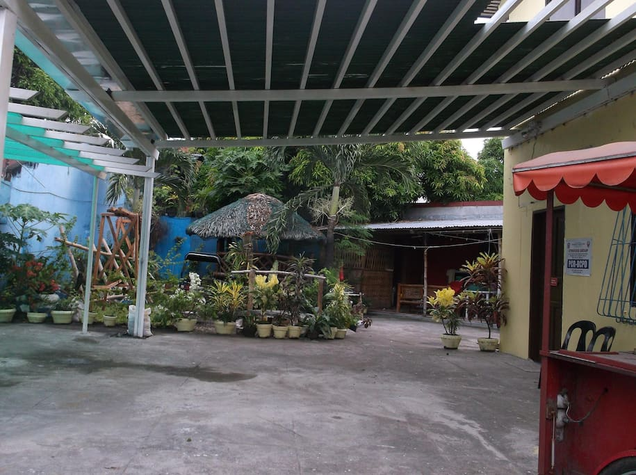 this is the covered Patio, I am using the place for venue rentals and zumba classes.