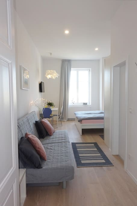 Wonderful, urban and modern studio apartment in the heart of Zagreb