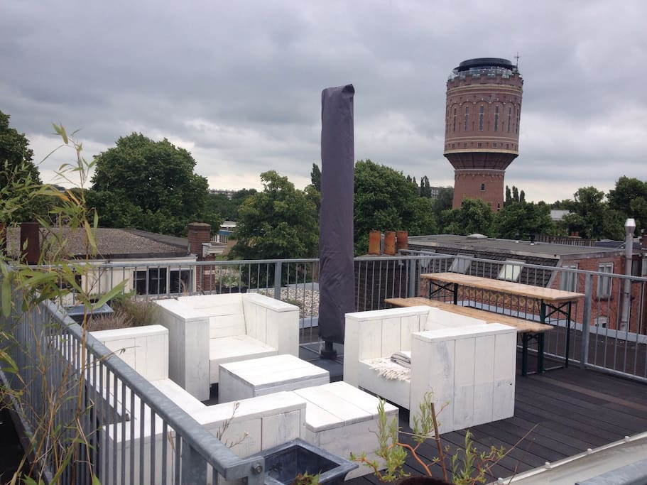 Roof top terras