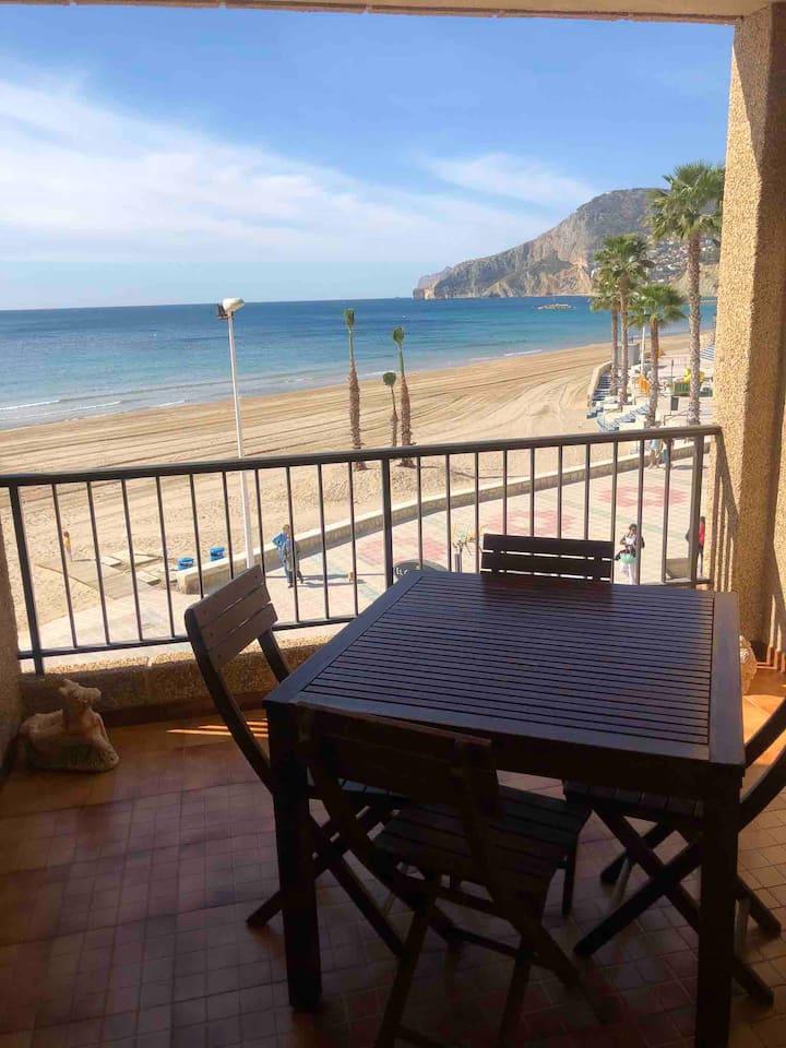 Calpe, Primera línea playa, front line, wifi
