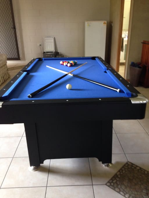 Pool room challenge