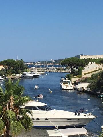 Seaview in the heart of the Gulf of St Tropez