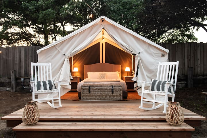 Beautiful Glamping Tent in Marina Ca #4