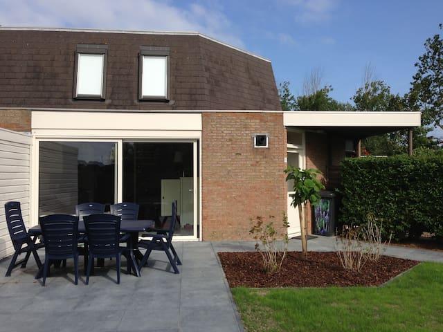 Ons zeehuisje - Nieuwvliet-Bad - Hytte