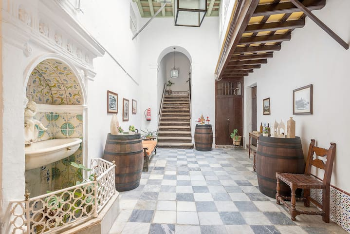 In Historic Building with Antique Charm
