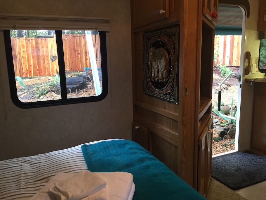 Come enjoy your own private space in Santa Cruz Mountains.