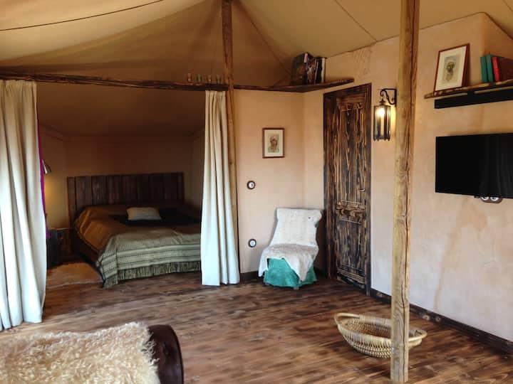 """Jaima Teseguite, oriental tent """"Glamping"""""""