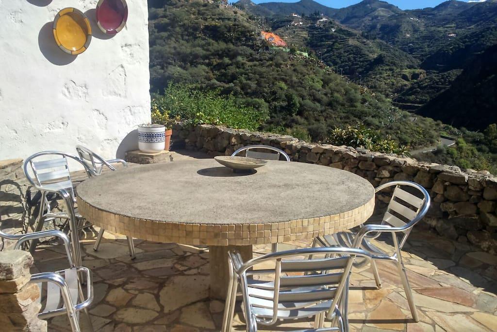 Lugar para comidas al aire libre