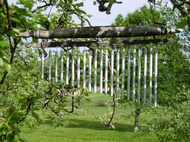 Windchime in the garden
