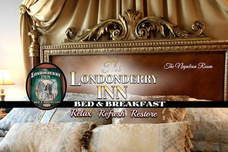 THE LONDONDERRY INN B&B's Napoleon Room - Palmyra - Bed & Breakfast