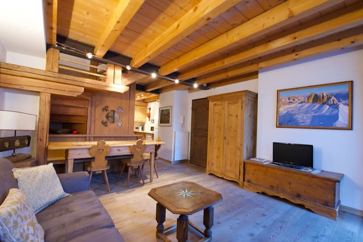 A dream apartment in the Dolomites