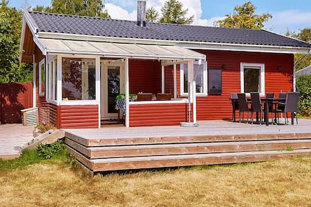 Garden-view Holiday Home in Zealand with Terrace
