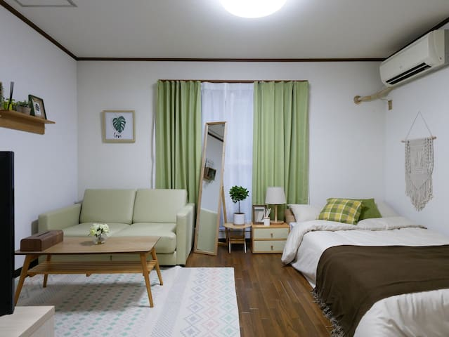 Sakura Shinsaibashi Residence 40B no cleaning fee*