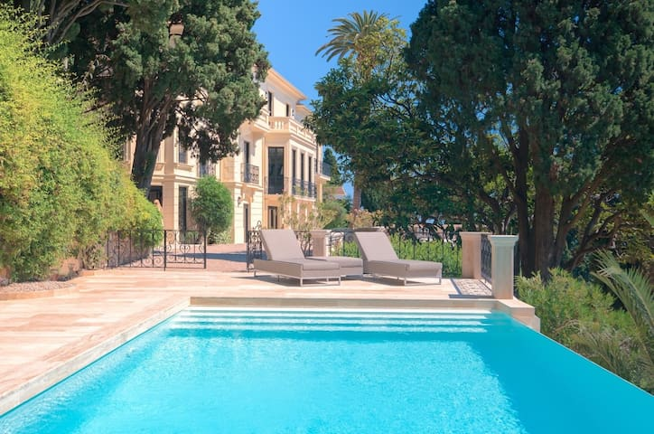 Villa Anabel: full privacy, panorama to Monaco bay - Roquebrune-Cap-Martin - Villa