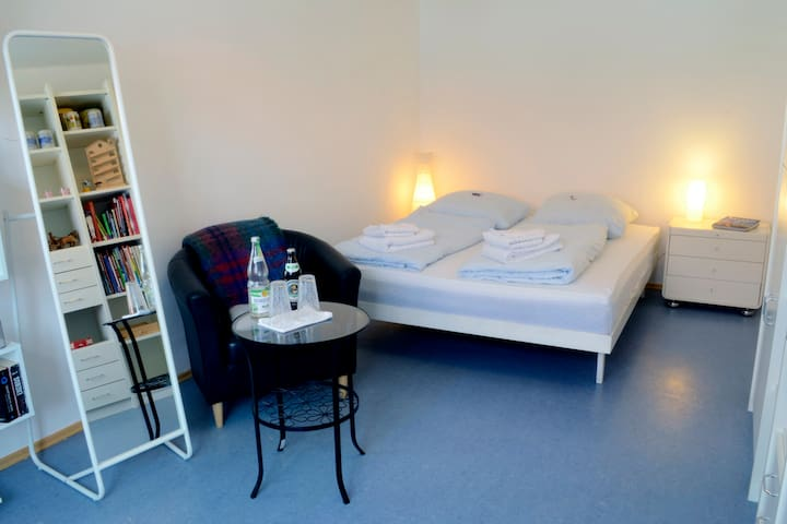 ★Beautiful private room close to Munich, own bath★