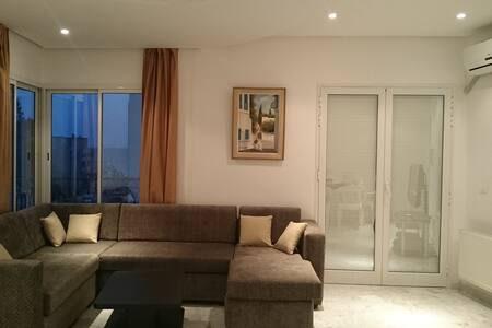 New sea view Appartment - 20 meters from the beach - Hammam Sousse