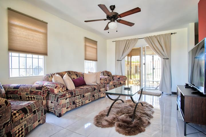 Luxury 2 bedroom beach villa in gated community