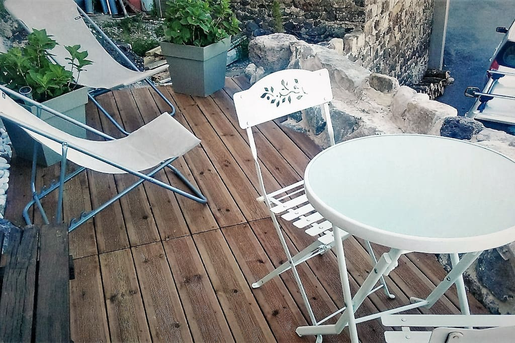 GRANDE TERRASSE PRIVATIVE