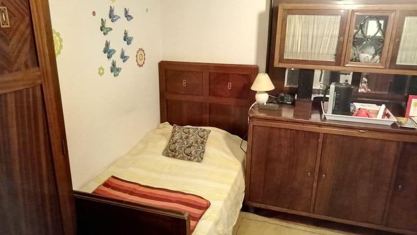 Mahanony room - as single room